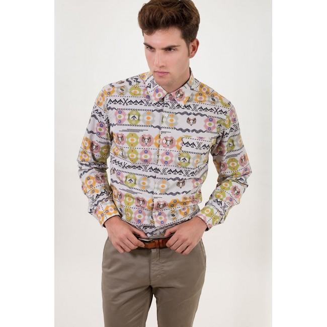 Camisa Estampada Indiana