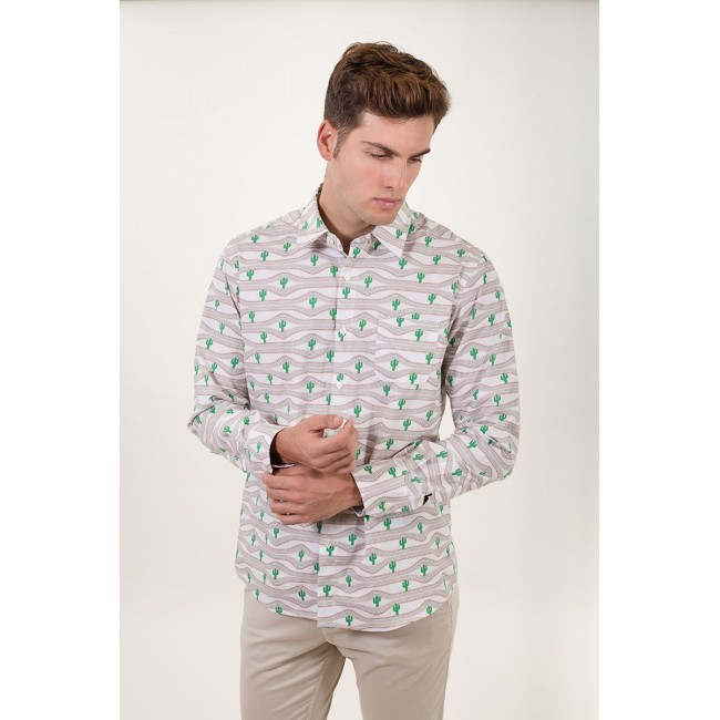 Camisa Estampada Skewers