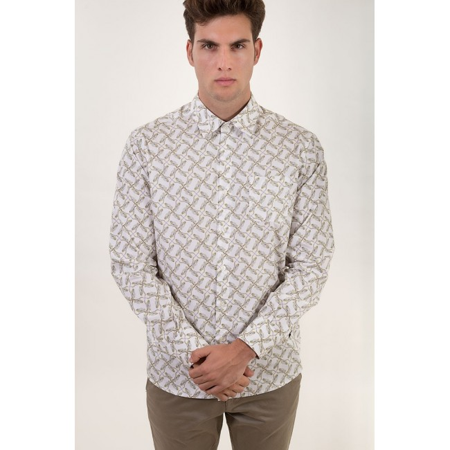 Camisa Estampada Chameleon