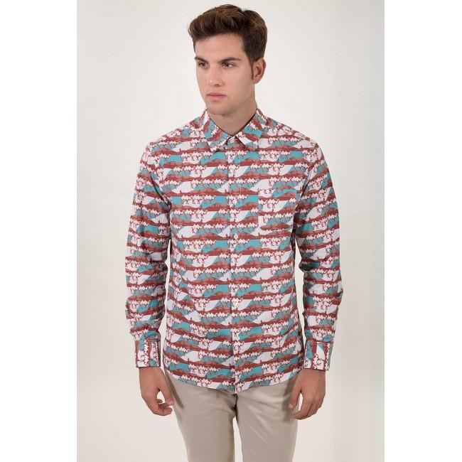 Camisa Estampada Kamelo